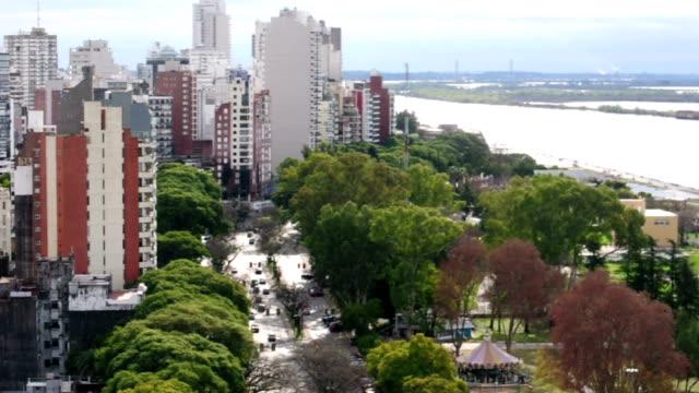 rosario, santa fe province, argentina - argentyna filmów i materiałów b-roll