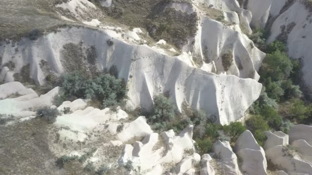 rose valley with blue sky in Cappadocia
