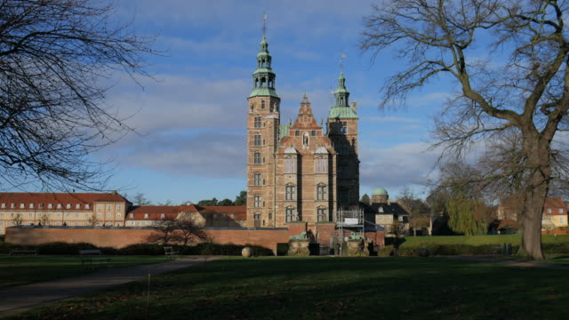 Rosenborg Castle Copenhagen denmark video