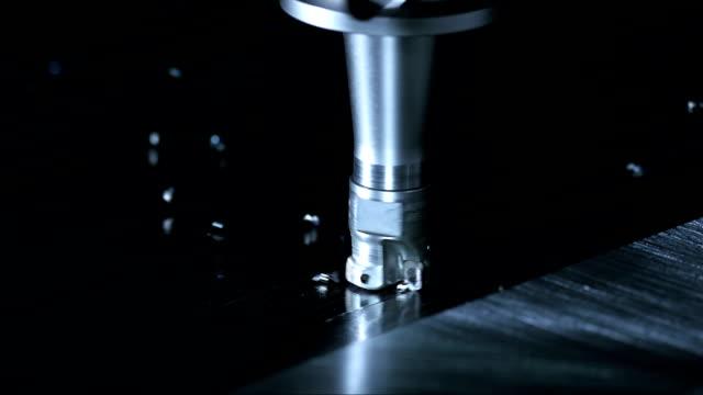 ローターリカッターカティング素材(スーパースローモーション) - 機械部品点の映像素材/bロール
