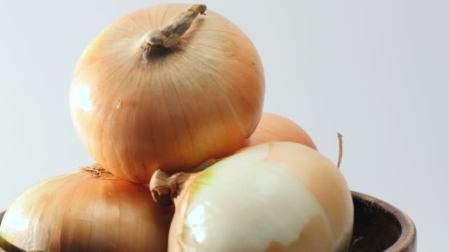 Rotate onions Rotate onions onion stock videos & royalty-free footage