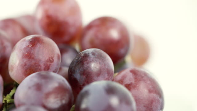 rotate:red grapes - grape stock videos & royalty-free footage