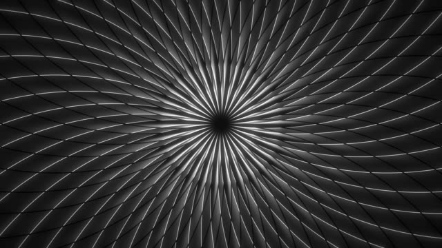 Rotating Abstract Concentric Line Pattern Illusion Loop video