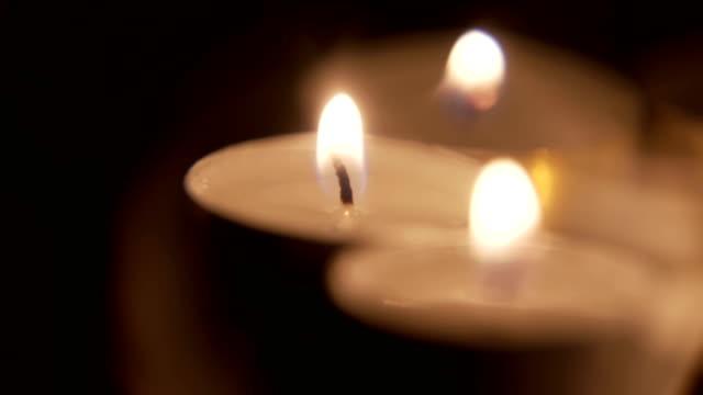 rotating candle background - jesus christ filmów i materiałów b-roll