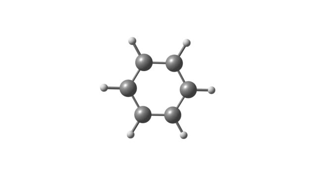 Rotating isolated benzene molecule video Rotating isolated benzene molecule video biochemistry stock videos & royalty-free footage