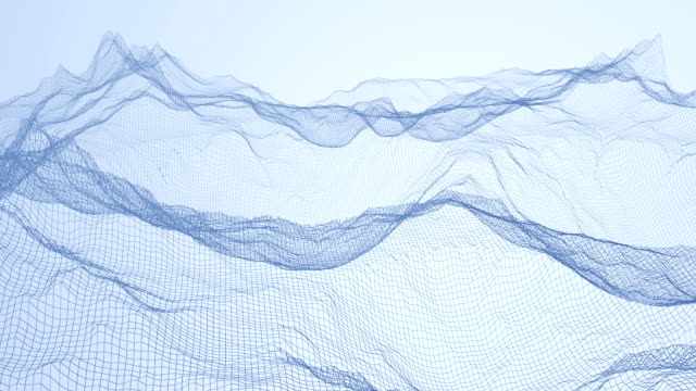 roterande berg wire frame - topografi bildbanksvideor och videomaterial från bakom kulisserna