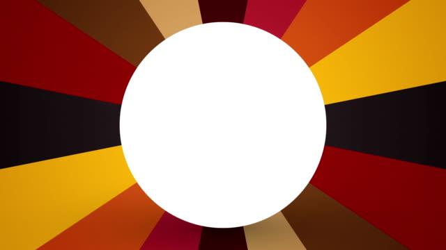 roterande pastellfärger bakgrund med vit cirkulärt hål - brun beskrivande färg bildbanksvideor och videomaterial från bakom kulisserna