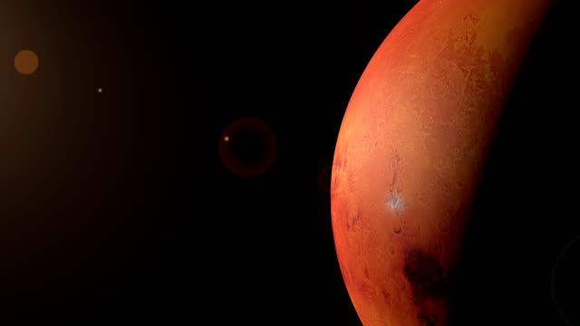 rotating planet mars - mars bildbanksvideor och videomaterial från bakom kulisserna