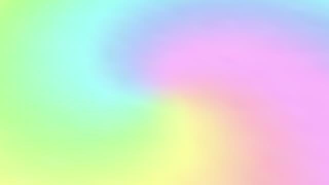 vídeos y material grabado en eventos de stock de degradado de arco iris giratorio. bucle sin costuras. resolución 4k, uhd, ultra hd. más fondos de color - unicornio