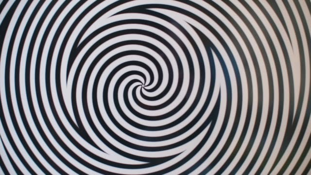 Rotating spiral circles. Rotating spiral circles. The spiral turns and creates the effect of hypnosis. illusion stock videos & royalty-free footage