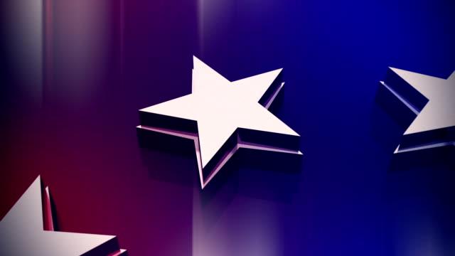 vídeos y material grabado en eventos de stock de giratorio de estrellas - election