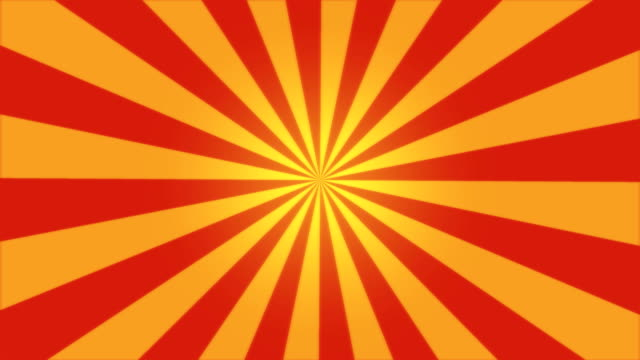 rotating stripes background animation - loop red - circus stok videoları ve detay görüntü çekimi