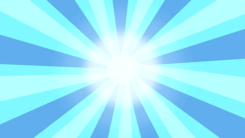 animazione in stile vintage 4k girante sunburst sunray. - disinvolto video stock e b–roll