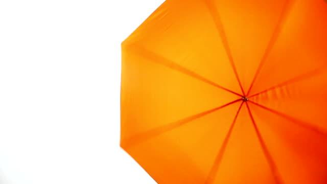 Rotating umbrella video