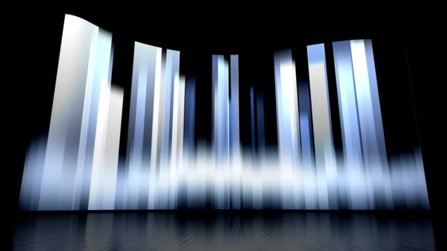 Rotating Vertical Bars Background Set video