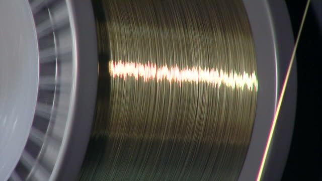 Rotating wire coil video