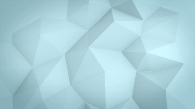 Rotation loop abstract triangle background video