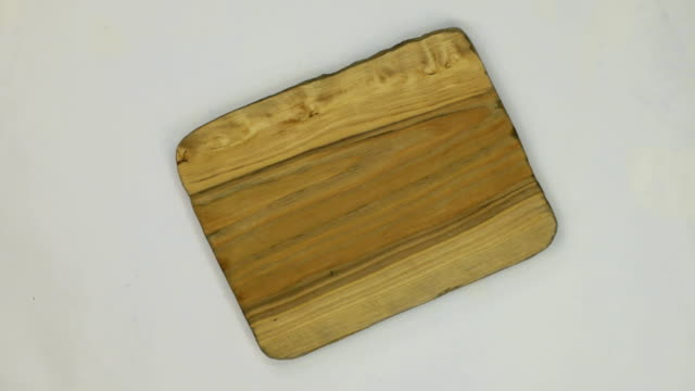 Rotation of the frame made of rectangular pine wood video