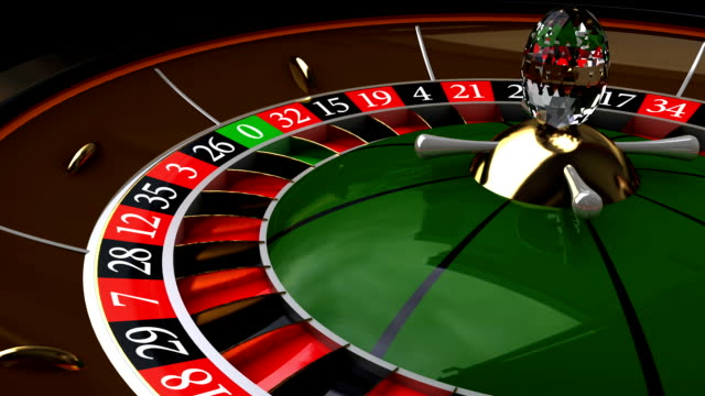 Rotation the roulette, HD, Loop/Cycle video