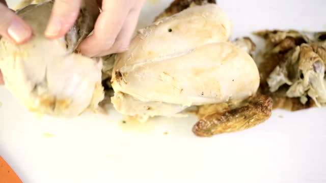 Rotisserie chicken video