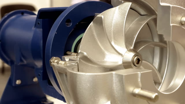 Rotor turbine electric pump for water or liquid video
