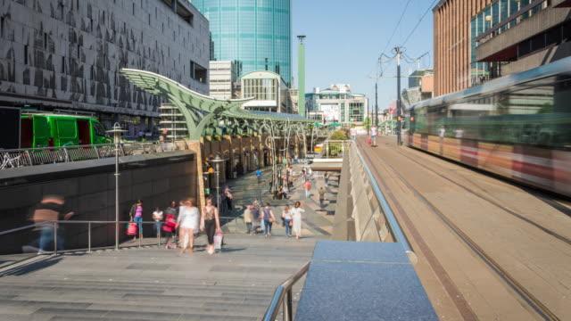 TIME LAPSE: Rotterdam city center Beurstraverse video