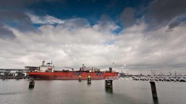 Rotterdam Harbor video