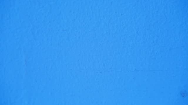 Rough Blue Wall Background
