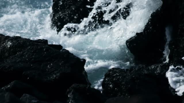 stockvideo's en b-roll-footage met rough coast - rocks sea