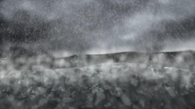 Rough Sea Rain video