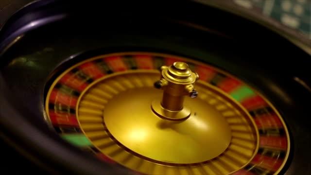 Roulette in the Casino video