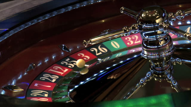 Roulette wheel spinning DM video