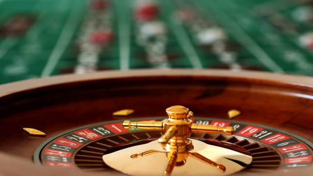 Roulette Wheel Table video