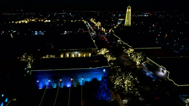 Round Rock , Texas during Christmas