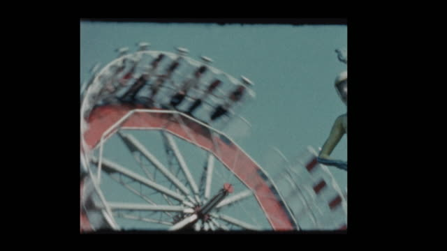 1961 Round Up Carnival Ride video