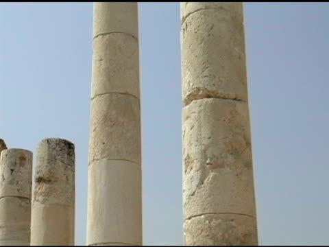 Row of Roman Pillars video
