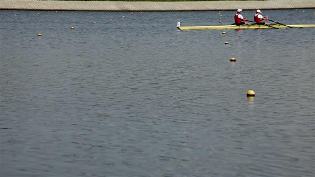 vídeos de stock, filmes e b-roll de rowers em treino de atletas - campeonato esportivo