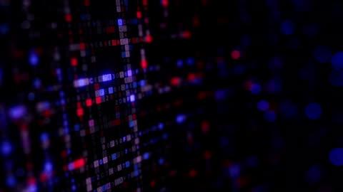 reihen von hexadezimal-code nahtlose schleife computeranimation - blockchain stock-videos und b-roll-filmmaterial