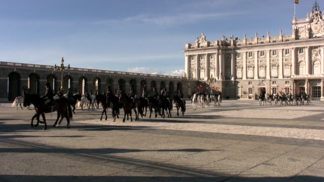 Palacio Real in Madrid video