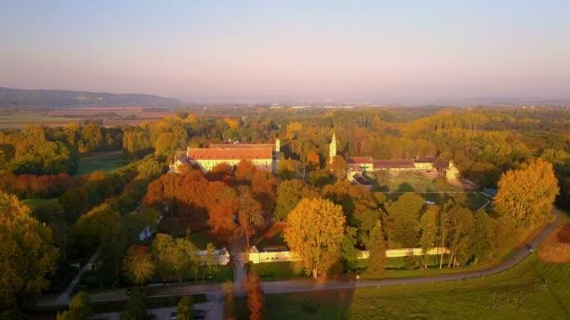 royaumont abbey in france - st louis стоковые видео и кадры b-roll