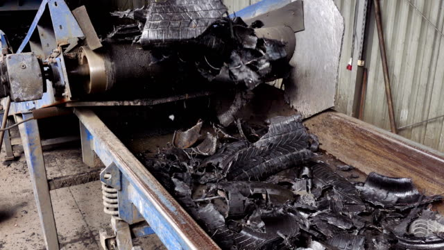 Rubber Recycling Factory video