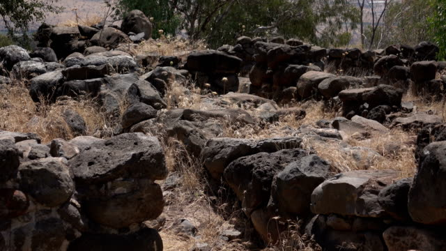 Rubble from Old City in Israel video