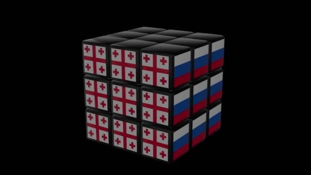 Rubiks-Georgia vs Russia video