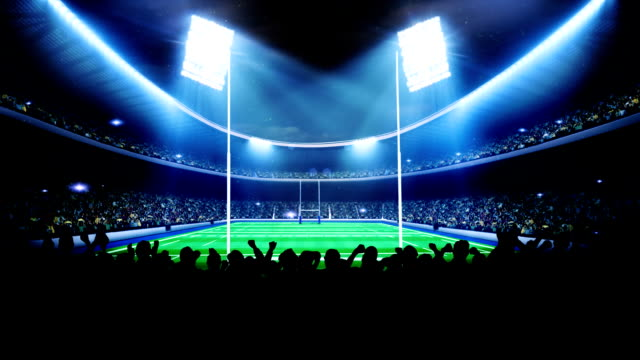 Rugby arena, stadium video