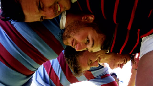 Rugby players scrum 4K 4k Rugby players scrum on the field 4K 4k rugby stock videos & royalty-free footage
