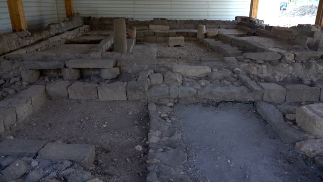 Ruins From Old Temple in Israel video