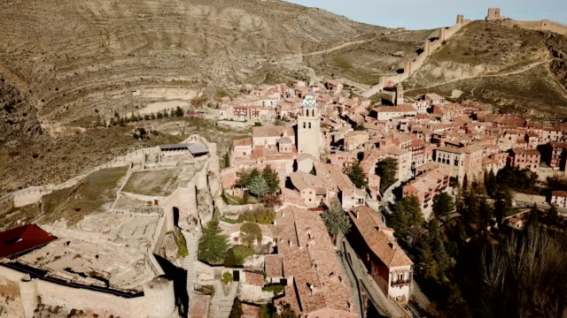 ruins of ancient fortified castle of Albarracin
