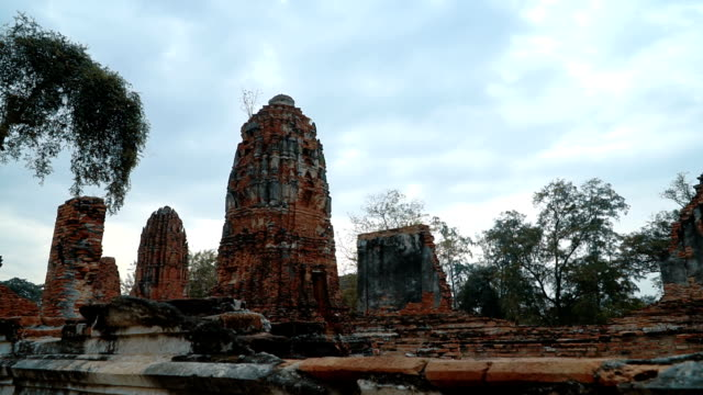 Ruins of Wat Maha That video
