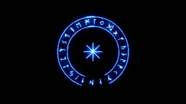 Runic Circle, Futhark. video