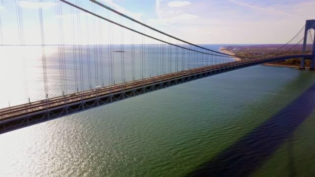 Best Verrazano Narrows Bridge Stock Videos and Royalty-Free Footage